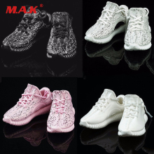 1/6 Sneakers Leisure Cloth Model Figure Girl Toys FG014 Sport Running Shoes for 12