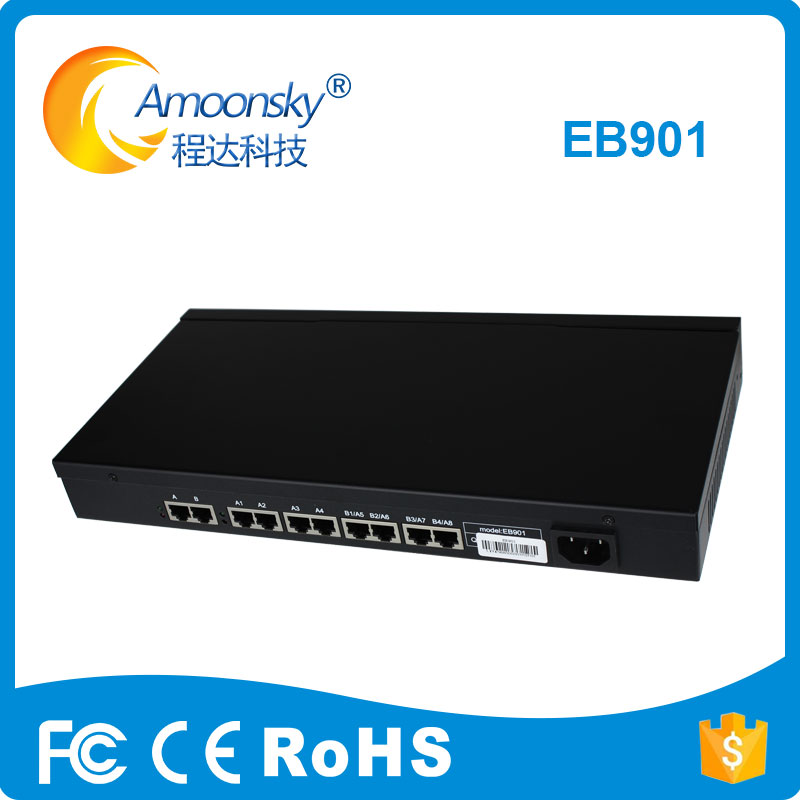 Linsn EB901 Replace EB701 LED display control system splitter EB901 is specialized or multi screens and