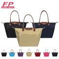 New Long Women Luxury Bags Nylon Folding Shoulder Bag Designer Women Handbags Dumplings Portable Female Tote Shopping Bags bolsa