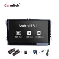 2din GPS Android Car multimedia player for VW PASSAT B5 B6 B7 Radio Volkswagen Skoda Octavia 2 golf 5 6 leon Jetta Tiguan Touran