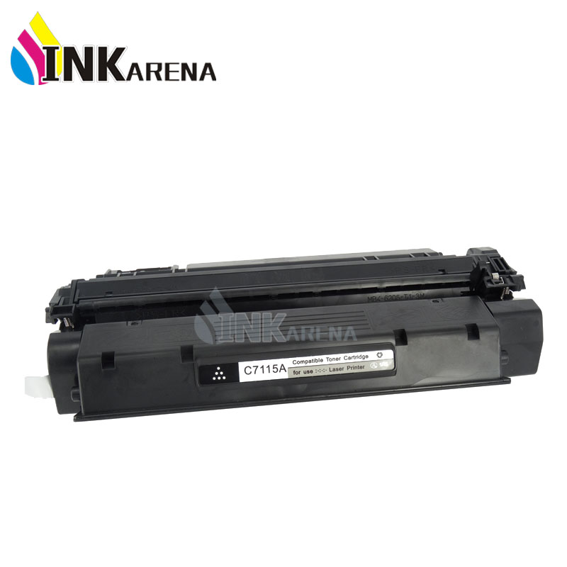 INKARENA Compatible Toner Cartridge Replacement For HP C7115A 15A LaserJet 1000 1005 1200 1220 3300 3330 3380MFP LBP1210 Printer use for hp 4730 toner cartridge toner cartridge for hp color laserjet 4730 printer use for hp toner q6460a q6461a q6462a q6463a
