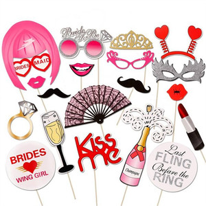 Wedding Decoration Photo Booth Props Kis