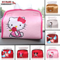 Cartoon Style Kitty Cat Car Seat Box Case Sets Hello Kitty Tissue Boxes Cover Hellokitty Car Interiors Decorative Accessories