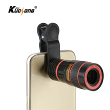8X Zoom Mobile Phone Telescope lens with Universal clip for Samsung Galaxy S6 Camera for iPhone