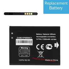 3.7V 1300 mAh Replacement Battery For Alcatel One Touch PIXI 2 4014D Smartphone Batterie Batterij