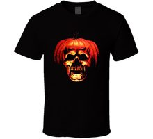 2018 Zomer Casual Man Halloween Bla T-shirt Horror Slasher Film Scary Party Pompoen Nieuwe Van ONS Band Logo Tee Shirt voor Mannen(China)