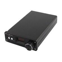 Kyyslb amplificador oled 2019 de alta potência, mini amplificador digital hifi com controle remoto