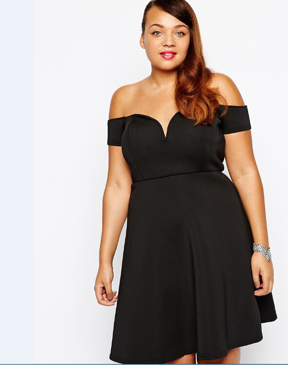 4853e112b88 plus size 4XL 5xl sexy women dress fat ladies evening party mini prom  dresses 2015 fashion womens brand large size 6xl clothes-in Dresses from  Women s ...