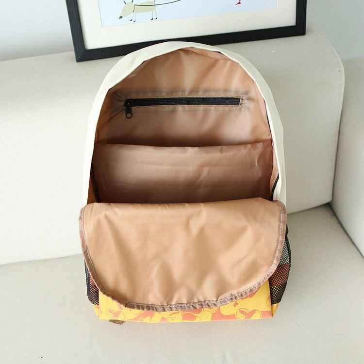 Girl Laptop Backpack Cute Face Print Pu Schoolbag Beige New Cat Backpack  Women Student Bag School Bag Leisure Cartoon Book Bag-in Backpacks from  Luggage ... 8680d815eb3f1