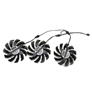 75mm PLD08010S12H 3Pin GTX 970 Cooler Fan for Gigabyte GTX 970 Windforce G1 R9-280X GV-R928XWF3-3GD GV-R928XOC Graphics Cards(China)