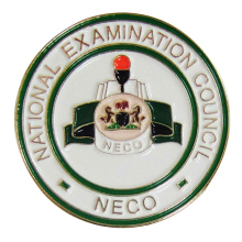 Factory Direct Sale Metal Custom National Examination Council Emblem Lapel Pin