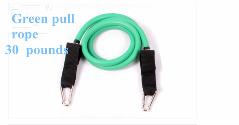 Купить с кэшбэком Enhanced Version Fitness Yoga Belt Practical Force Workout Pull Rope Exercise Cordage Resistance Bands Free Shipping