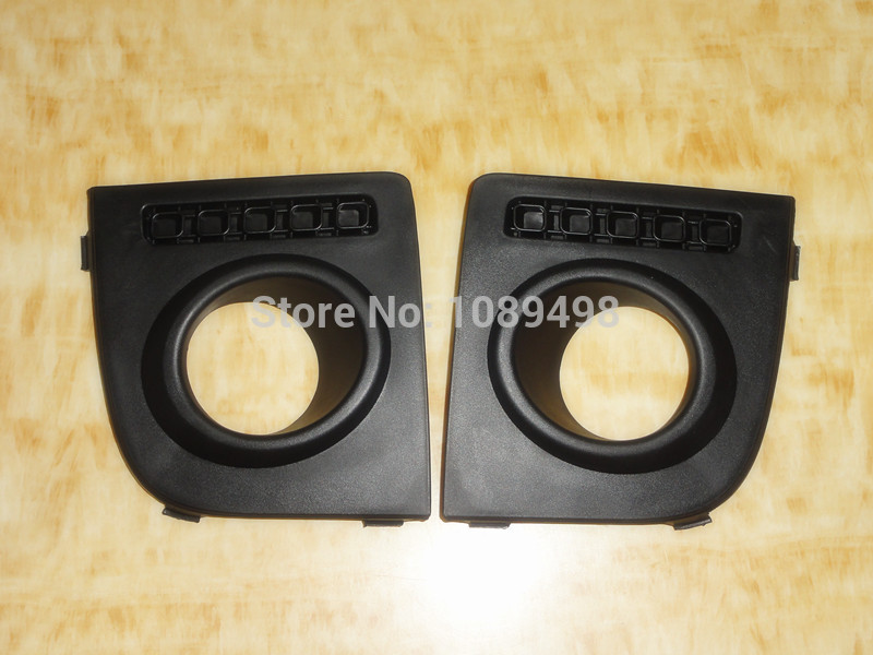 2Pcs/Pair RH and LH front fog lamp light cover bezel case for Ford Fusion 2003-2006