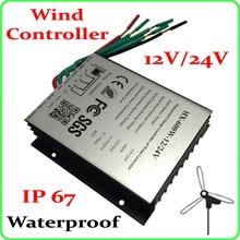 100W Wind Generator Controller ;AC12V/24V wind turbine charge controller ; Regulator