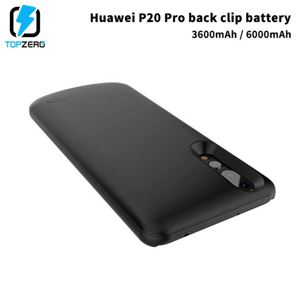 3600/6000mAh Battery Charger Case For Huawei P20 Pro External Pack Backup Power Bank Battery Charging Case Cover For Huawei P20