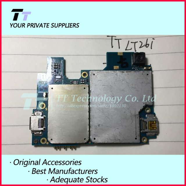 Original Unlocked Working For Sony Xperia S LT26i Motherboard Logic Board  With Chips free shipping-in Circuits from Phones & Telecommunications
