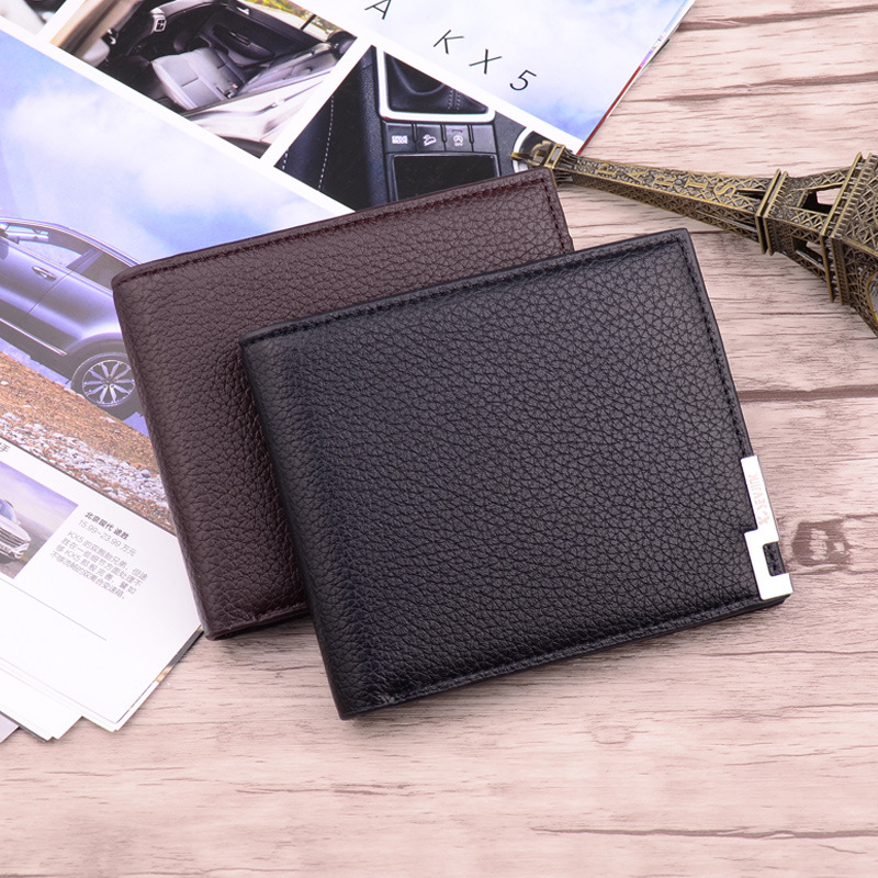 High Quality Simple Classic Man Short Business Leather Wallet Brand Card Holder Male Carteras Purses Wallets for Men frank buytendijk dealing with dilemmas where business analytics fall short