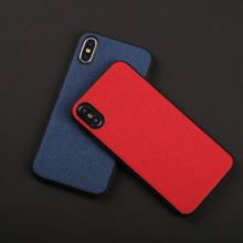 Phone Cases For iPhone X Xs Max Cover abrasive PU leather Soft TPU Silicone Case For iPhone 6 6S Plus 7 8 Plus 7p 8p Shell