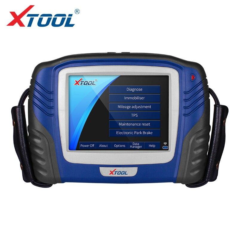 XTOOL PS2 GDS Professionnel Voiture Outil De Diagnostic Avec Auto key programmation antidémarrage et s'éteint ABS lumières Lire/Efface faute