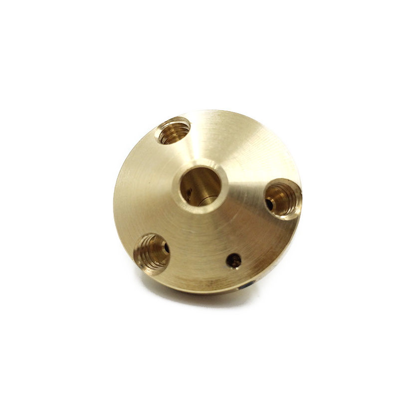 Brass 2 In 1 Out Hotend nozzle Multi Color Nozzle 0.4 For 1.75mm Filament