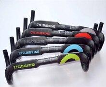 2015 new arrival top full carbon fiber road handlebar bicycle internal routing handlebar bike bent bar