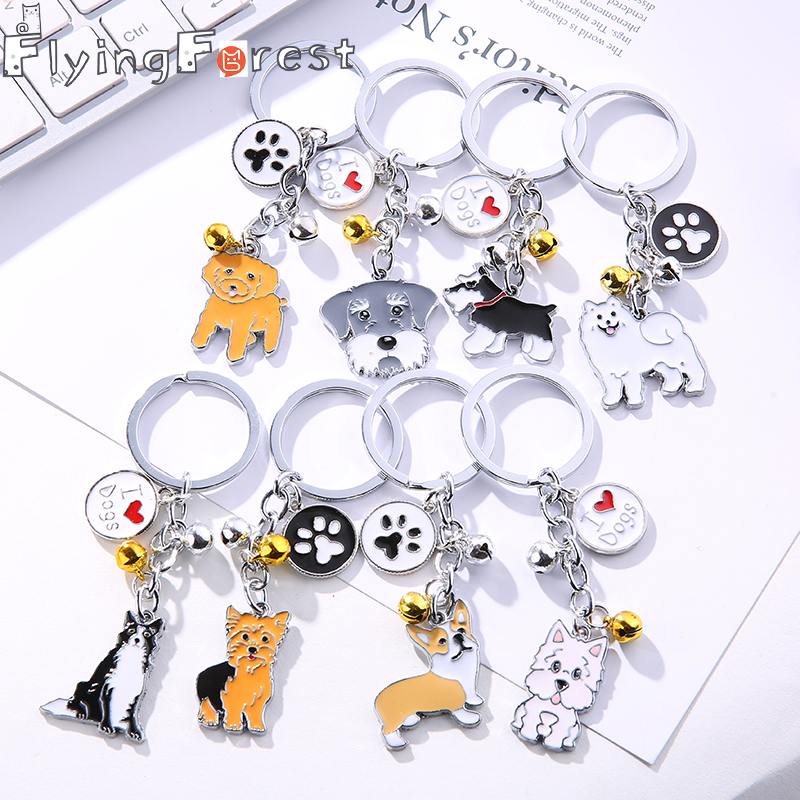 Keychain Cute Keychain Anime Key Ring Boyfriend Gift Bag Charm Animal Couple Keychain Lovely Car Keyring Gift Women Jewelry