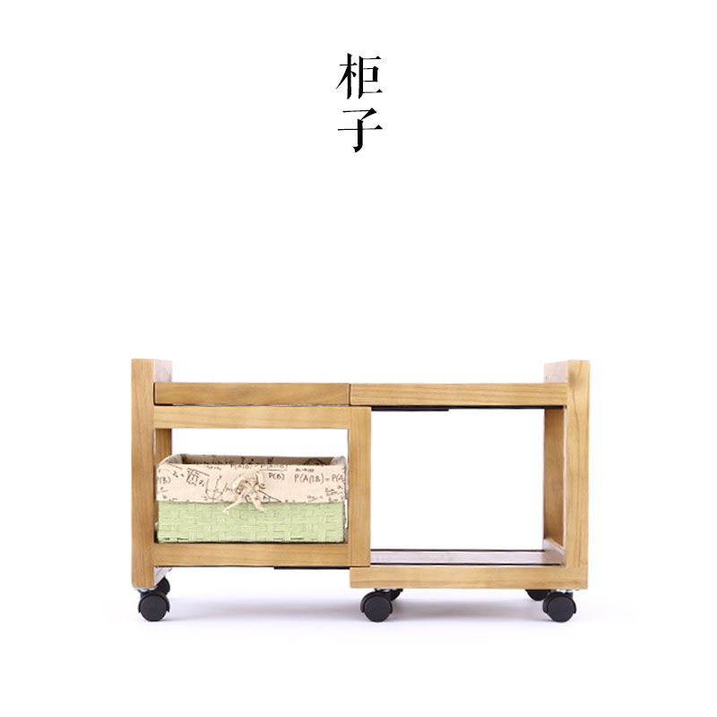 Mingei Japanese home wood cabinet with drawers Drawers lockers modern minimalist bedroom wooden pulley Drawers wooden dressing table makeup desk with stool oval rotation mirror 5 drawers white bedroom furniture dropshipping