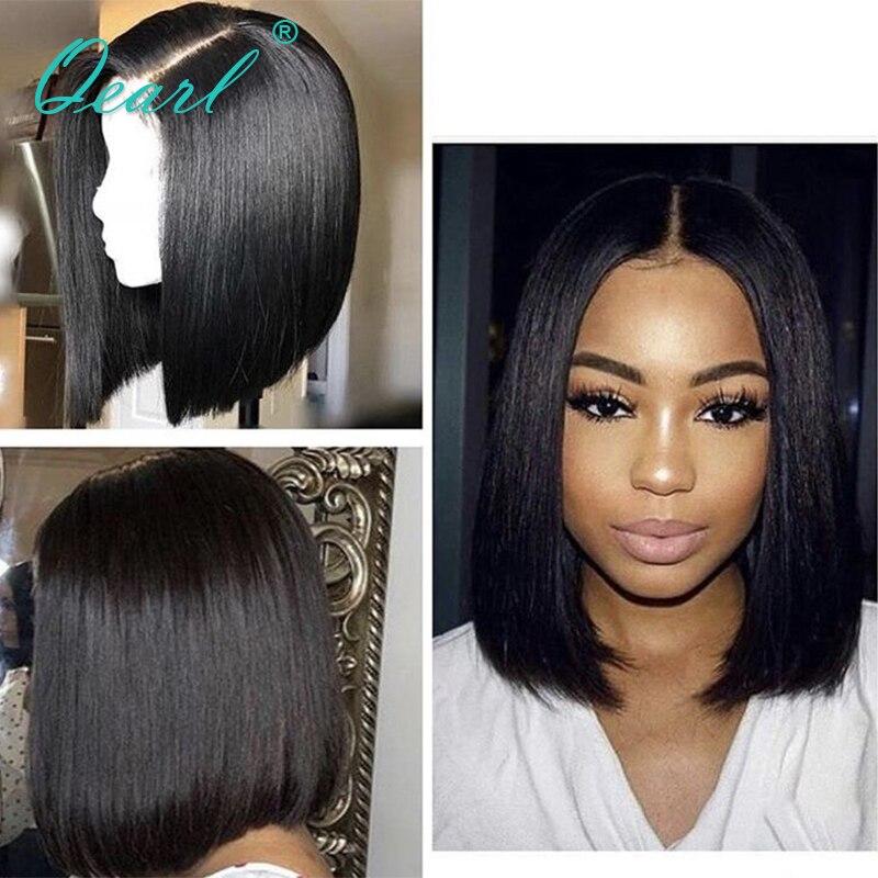 Qearl Short Bob Cut Style Wig Lace Front