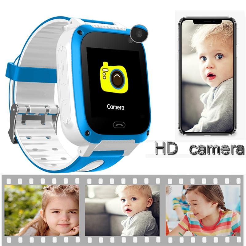LSB positionnement tracker enfants de smart watch intelligente chat vocal SOS alarme d'urgence mobile téléphone de sécurité smart watch