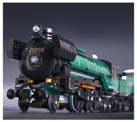 DIY Creator series the Emerald Night model building blocks set Classic compatible Steam trains With Slot Toys Christmas Gift