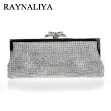 2017 Women Evening Bag Solid Colors Ladies Sequined Clutch Bags Bridal Wedding Party Handbag SFX-A0251