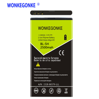 WONKEGONKE BL5H BL-5H Şarj Edilebilir Li-ion nokia için pil Lumia 630 636 638 635 RM-970 RM-978 RM-1010 Piller Bateria