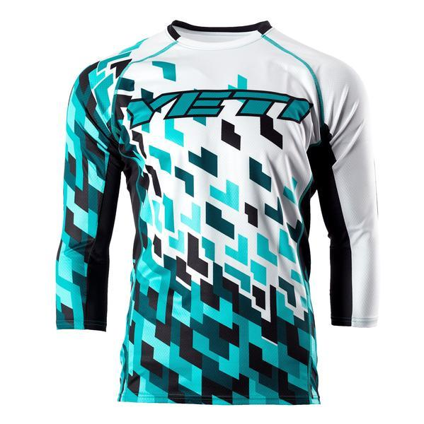 70%sleeves Multi-color YETI Downhill Cycling Jerseys Custom Cycling DH Downhill MTB/BMX Jerseys Motorcycle Motocross Clothing dr
