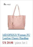 Minofious vintage feminina bolsa de ombro feminino