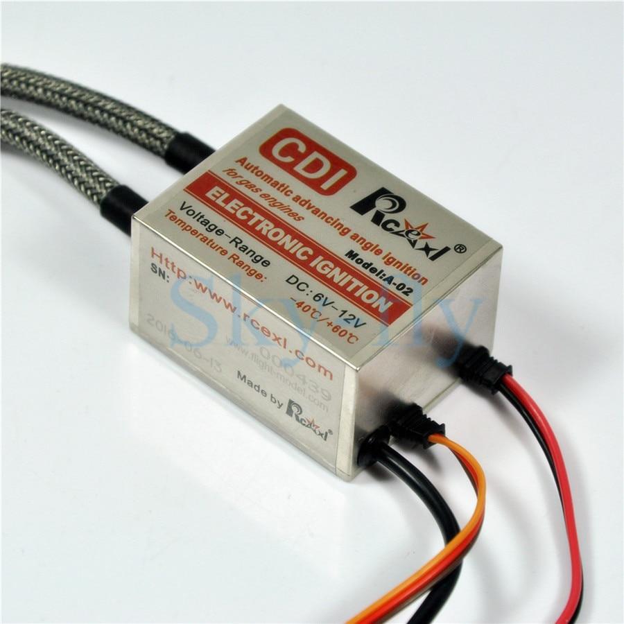 Rcexl Electronic NGK ME-8 1/4-32 90 Degree Twin Ignition + Universal Sensor kit метчики 1 4 32
