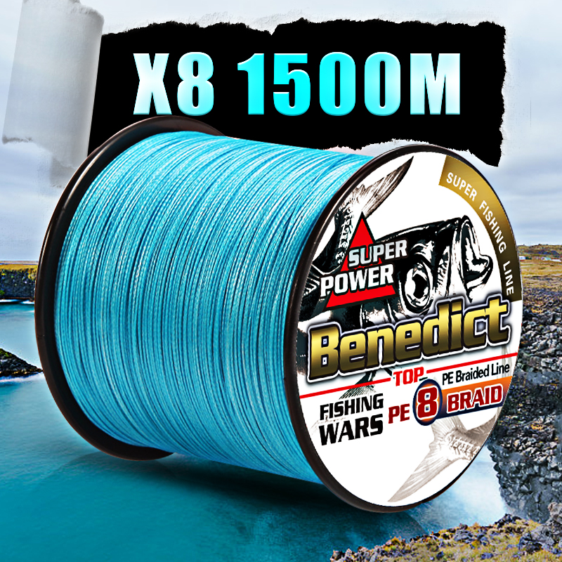 Image 5 - fishing braid line 1500m 2000m wire durable sea ocean ice fishing pe line  fishing all 8 weaves ultra high strength  8 300LBS-in Fishing Lines from Sports & Entertainment