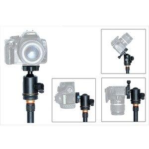 Image 5 - ใหม่ QZSD 02 อลูมิเนียมหัวขาตั้งกล้องขาตั้งกล้อง + Quick Release Plate สำหรับกล้องขาตั้งกล้อง, โหลดสูงสุด 15 กก.