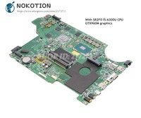 NOKOTION For MSI MS 17951 MS 1795 GP62 7QF 1843UK MS 16J51 Laptop Motherboard SR2F0 I5 6300U CPU GTX960M graphics