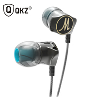 Earphone QKZ DM7 Zinc Alloy In Ear Earphones HiFi Earphone Fone De Ouvido Headset Auriculares Audifonos