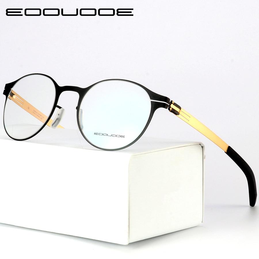 High Quality IC Unique Design Brand glasses Frame men and women Ultra Light Ultra Thin Eyeglasses