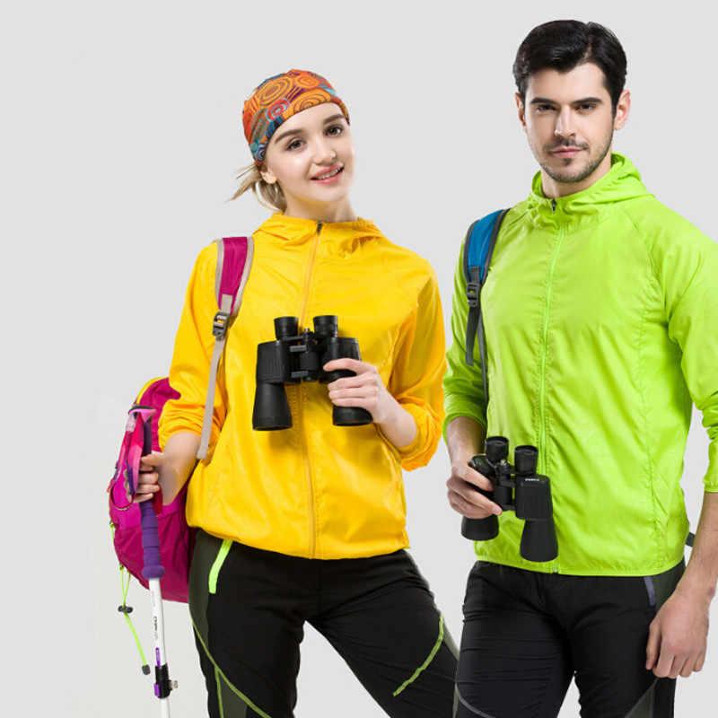 للجنسين في الهواء الطلق الشمس واقية سترة زائد 4XL المشي التخييم الجري الصيد للماء الملابس حماية الأشعة فوق البنفسجية معطف