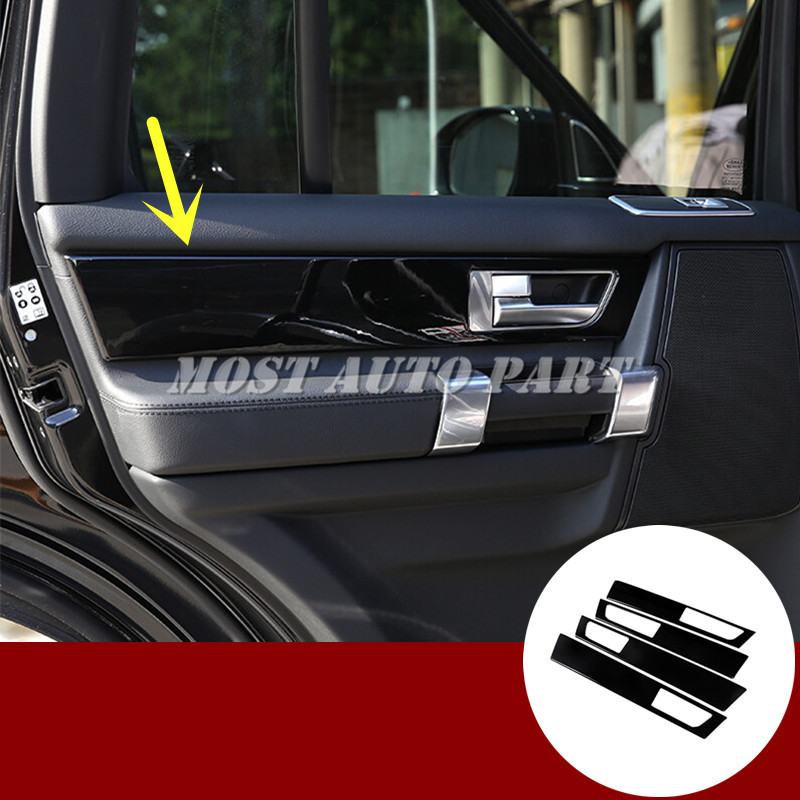Black Car Door Panel Moulding Cover For Land Rover LR4