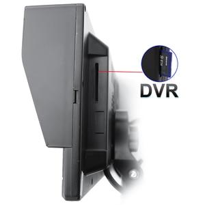 Image 3 - GreenYi AHD Запись DVR 7 дюймов Автомобильный монитор с 1920*1080P камера заднего вида для грузовика автобуса поддержка SD карты