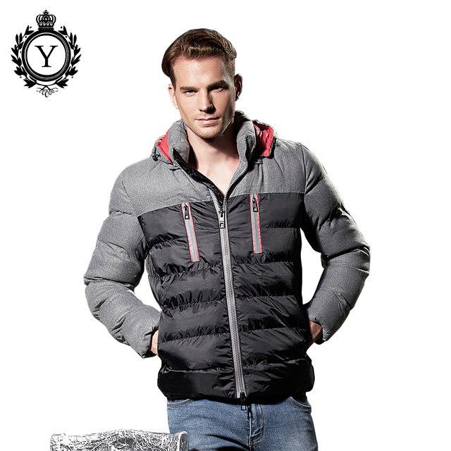 COUTUD Men's Clothing Winter Down Jacket Coats Western Stylish ... : quilted mens jacket outerwear - Adamdwight.com