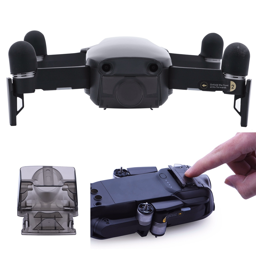 Quick Release Lens Cover Cap For DJI Mavic Air Drone Camera Lens Gimbal Stabilizer Protector Protective Mount Holder Dust-Proof