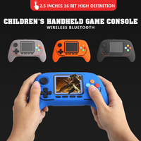 Game Console Lithium Battery/AAA Battery 16 Bit Retro Fashion Rechargeable Video Games Console Handheld Game Player