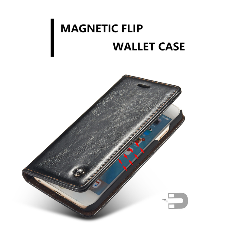 Magnetic Iphone Case Wallet
