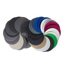 5 PIÈCES de 5 Pouces (125mm) pour Humide/Sec Papier Abrasif Rond En Carbure De Silicium Crochet & Boucle Imperméable Disques de Ponçage