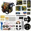 Новый Год подарок! Keyestudio DIY Умный автомобиль робот для Aduino Робот стартер обучения комплект умный черепаха