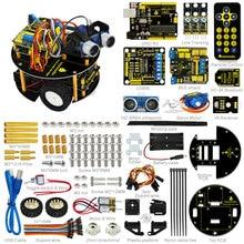 Nowy Rok prezent! keyestudio zestaw diy samochodów smart nauka inteligentny żółw robota robota dla aduino starter